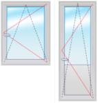 Балкон. группа 2200Х1700 стеклопакет 4-14-4-14-4