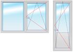 Балкон.группа 2200х2100 стеклопакет 4-16-4