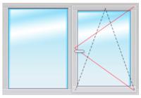 KBE Expert В70 1500х1500 стеклопакет 40мм SIEGENIA