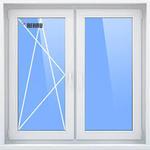REHAU GRAZIO/1500х1500/стеклопакет 40мм/фурнитруа Roto NX