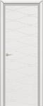 Дверь Граффити 3, ДГ, белая эмаль