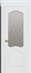 Дверь Танго ДО, белая эмаль, мателюкс
