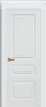 Дверь Троя ДГ, белая эмаль